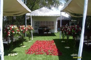 asesor�a y dise�o de decoraci�n para iglesias y recepciones