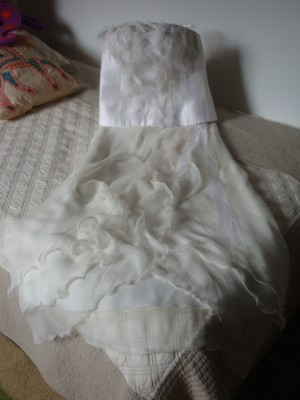 vestido de novia de la diseñadora giorgia reyes