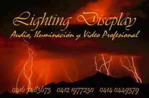 lighting discplay