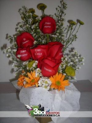 servicio de arreglos florales, montaje y organización de bodas temáticas