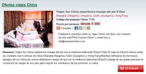 viajes sur china experiencia masaje del pie 9 dias