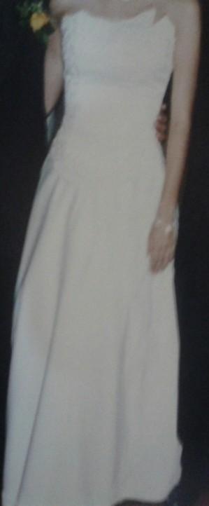 bello vestido de novia usado (1 vez)