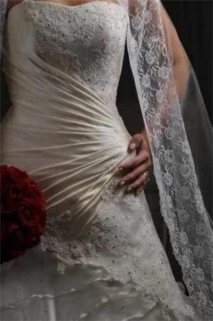 vendo vestido de novia, diseÑado por ramiro lopez