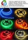 Cinta de led autoadhesiva, iluminacion led, luces led de moduled, sistemas dmx